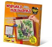 Wypukła Malowanka Zoo - Szympans