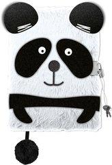 Pamiętnik z kłódką A5/96K Panda