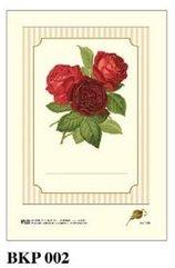 Naklejki dekoracyjne BKP 002 Róża 6szt ROSSI