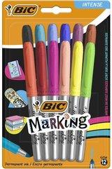 Marker Marking Intense 12 kolorów BIC