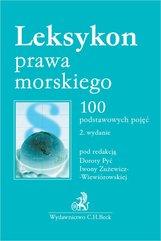 Leksykon prawa morskiego. 100 podstawowych pojęć. Wydanie 2