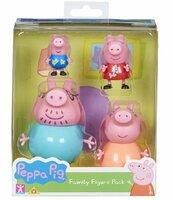 Świnka Peppa Zestaw rodzina 4 figurki