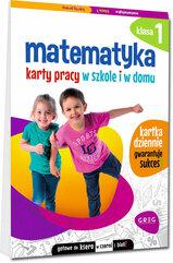 Matematyka Klasa 1 Karty pracy w szkole i w domu