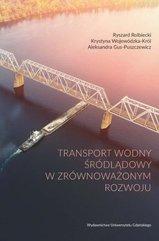 Transport wodny śródlądowy w zrównoważonym rozwoju