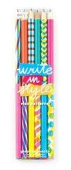 Ołówki stylowe Write in style Riso Patterns 6szt
