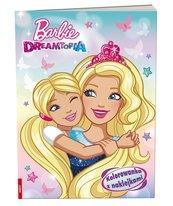 Kolorowanka z naklejkami. Barbie Dreamtopia