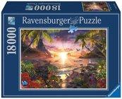 Puzzle 18000 Raj. Zachód słonca