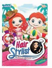 Plastelina 8 kol. Hair Stylist Beach 100g NARA