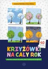 Krzyżówki na cały rok dla dzieci uczących się czytać pisać i rozwiązywać łamigłówki