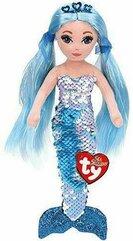 TY Mermaids Indigo - niebieska syrenka 27cm