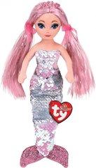 TY Mermaids Cora - różowa syrenka 27cm