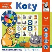 Koty Smart bingo Gra edukacyjna
