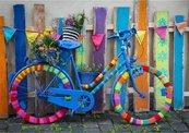 Puzzle 1000 Mój piekny kolorowy rower