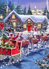 Puzzle 1000 Świety Mikołaj