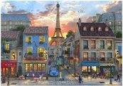 Puzzle 1000 Francja, Ulica w Paryżu