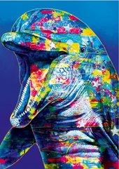 Puzzle 1000 Delfin pełen kolorów