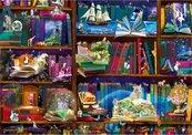 Puzzle 1000 Biblioteka pełna przygód