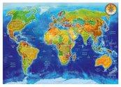 Puzzle 1000 Geopolityczna mapa świata