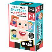 Montessori fiszki emocje i reakcje
