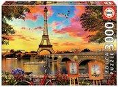 Puzzle 3000 Zachód słońca w Paryżu G3