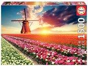 Puzzle 1500 Pole tulipanów G3