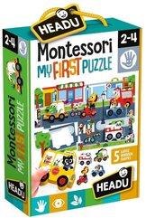 Montessori Pierwsze puzzle Miasto HEADU