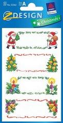 Naklejki Bożonarodzeniowe - Dedykacje