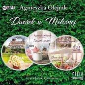 Pakiet: Dworek w Miłosnej T.1-3 Audiobook