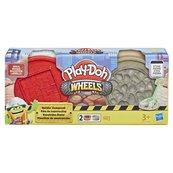 Play-Doh Wheels - Ciastolina Tuby budowlane Cegła i Kamień