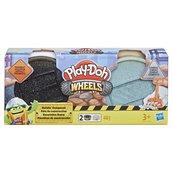 Play-Doh Wheels - Ciastolina Tuby budowlane Asfalt i Cement