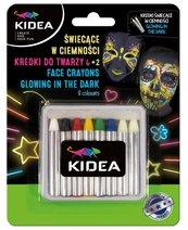 Kredki do twarzy 8 kolorów KIDEA