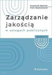 Zarządzanie jakością w usługach publicznych w.2