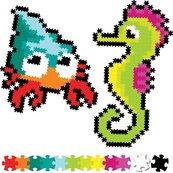 Puzzelki Pixelki Jixelz 700 elem. - morscy przyja