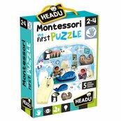 Montessori Moje Pierwsze Puzzle- Biegun