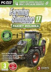 Farming simulator 17 Pakiet Rolnika (PC) PL (gra + 3 dodatki)