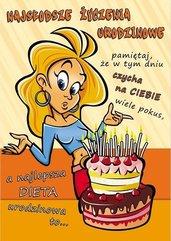 Karnet Comic B6 + koperta wzór nr 05 Urodziny