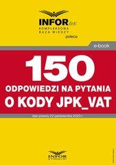 150 odpowiedzi na pytania o kody w JPK_VAT