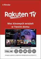 Doładowanie Rakuten TV - 5 filmów w jakości Full HD