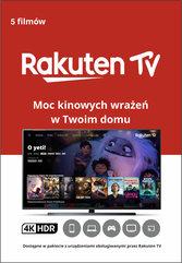 Doładowanie Rakuten TV - 5 filmów w jakości UHD 4K