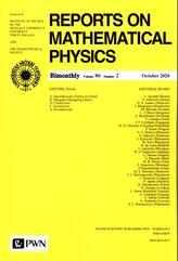 Reports On Mathematical Physics 86/2 - Polska
