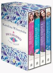 Pakiet Rok na Kwiatowej: Zapach bzu / Kwitnące lilie / W kolorze wrzosu / Grudniowe kwiaty
