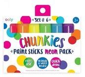 Farby w kredce Chunkies Paint Sticks Neon 6szt