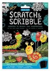 Zdrapywanki Mini Scratch & Scribble Owady