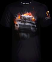 World of Tanks 10th Anniversary Tiger T-shirt M