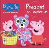 Świnka Peppa. Książeczki z.. 66 Prezent od serca