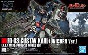 HGUC 1/144 GUSTAV KARL (UNICORN VER)