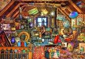 Puzzle 1500 Strych pełen zabawek