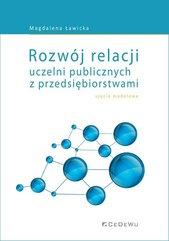 Rozwój relacji uczelni publicznych z przedsiębiorstwami
