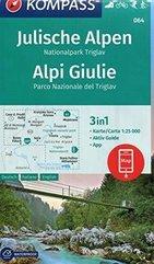 Mapa turystyczna Alpy 3w1 1:25 000