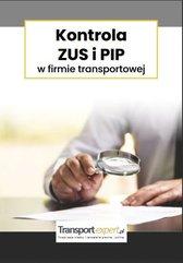 Kontrola ZUS i PIP w firmie transportowe